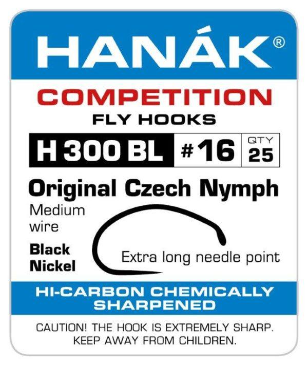 Barbless Czech Nymph Fly Hook