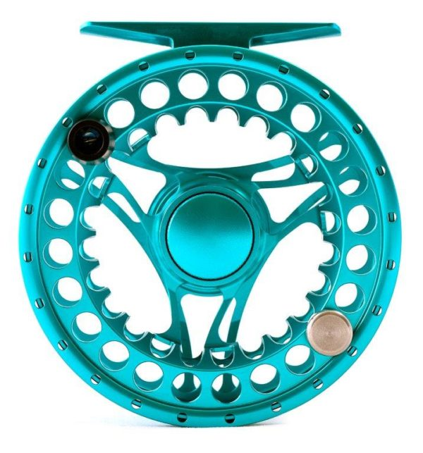 Hanak Reel Alpen Nymph II 35 front - fly fishing reel