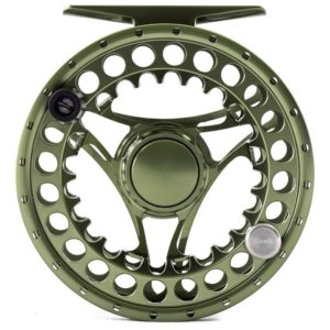 Hanak Fly Fishing Reel - Superb 35 Green front
