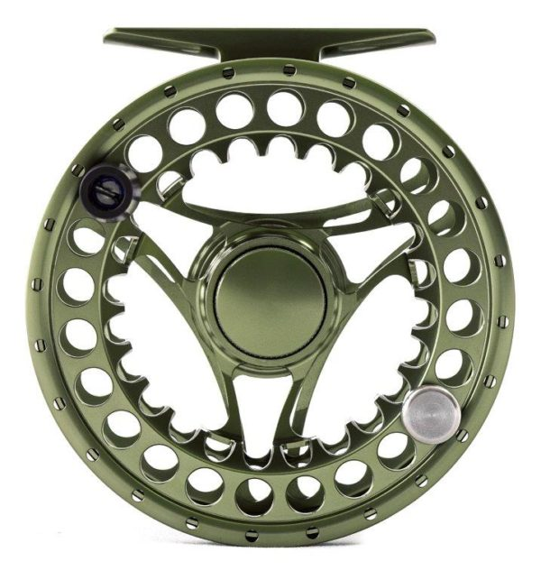 Hanak Fly Fishing Reel - Superb 35 Green front