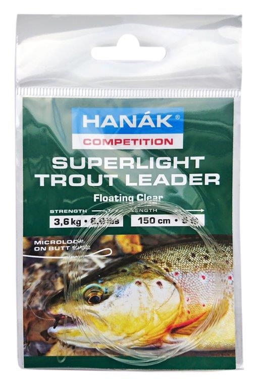 Superlight Trout Leader - Floating Clear