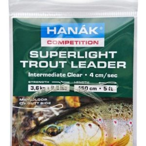 Superlight Trout Leader - Intermediate Clear