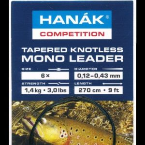 Tapered Knotless Mono Leader size 1